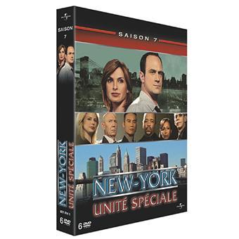 New York Unité SpécialeNew York Unité Spéciale - Coffret intégral de la Saison 7