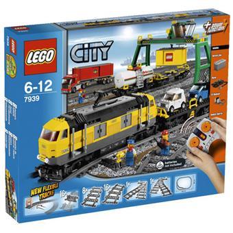 lego city 7939 le train de marchandises lego achat. Black Bedroom Furniture Sets. Home Design Ideas