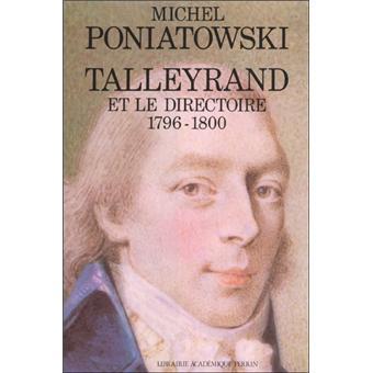 Talleyrand et le Directoire