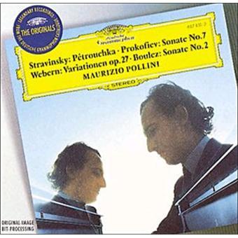 Boulez - Sonates pour Piano Petrouchka