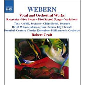 Vocal & orchestral work
