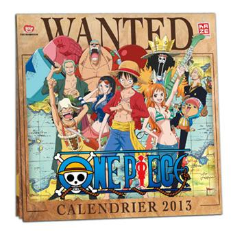 one piece calendrier one piece 2013 collectif broch achat livre fnac. Black Bedroom Furniture Sets. Home Design Ideas