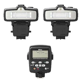 Nikon Kit R1C1 : 2 Flashes SB-R200 + Contrôleur SU-800
