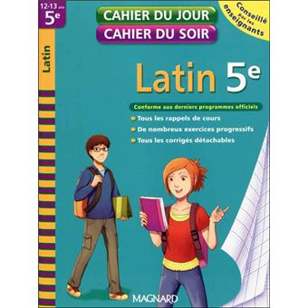 exercices latin 5eme