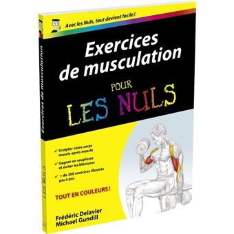 Pour les Nuls - Exercices de musculation Pour les nuls - Frédéric ... fb9ce116020