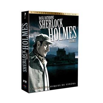 Coffret Sherlock Holmes - L'intégrale - Volume 2