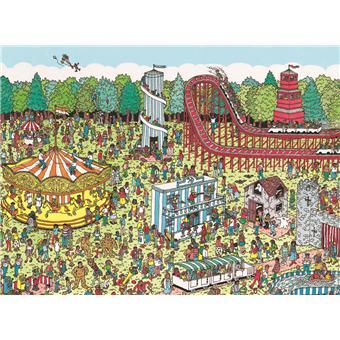 Nathan Puzzle Fête foraine/Où est Charlie? 500 pièces