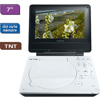 toshiba sdp74dtwe blanc lecteur dvd portable achat prix fnac. Black Bedroom Furniture Sets. Home Design Ideas