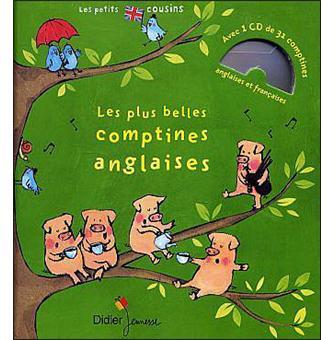 Les Plus Belles Comptines Anglaises Edition 2017 Livre Cd Jean