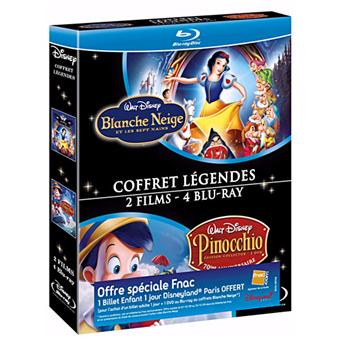 Blanche-Neige et les Sept Nains - Pinocchio - Blu-Ray