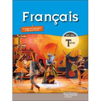 Francais Terminale Bac Pro Livre Eleve Format Compact Ed 2011