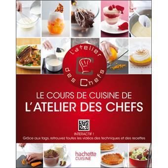 Le cours de cuisine de l 39 atelier des chefs interactif for Atelier cours de cuisine