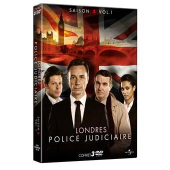 Londres, police judiciaireLONDRES POLICE JUDICIAIRE 3 VOL 1-3 DVD+FOURREAU-VF