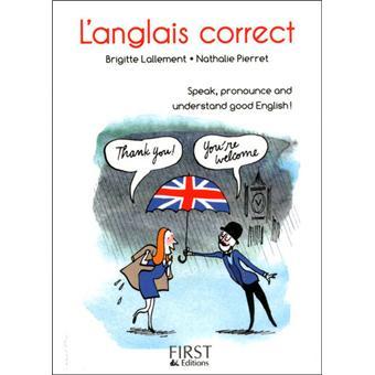 Le petit livre de - l'anglais correct
