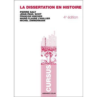 Comment rediger une dissertation en histoire