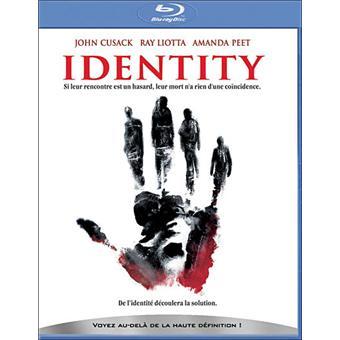Identity - Edition Blu-Ray