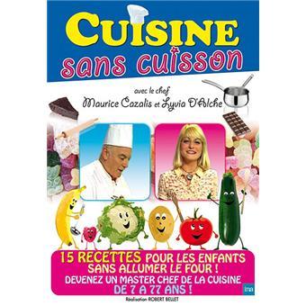 cuisine sans cuisson : 15 recettes pour les enfants - dvd zone 2