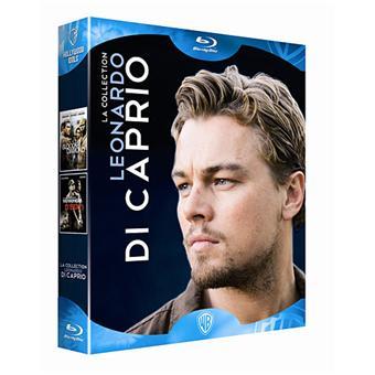 Coffret Leonardo DiCaprio - 2 Films - Blu-Ray