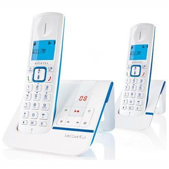 Téléphone fixe ALCATEL VERSATIS F230 BLEU DUO AVEC REPONDEUR
