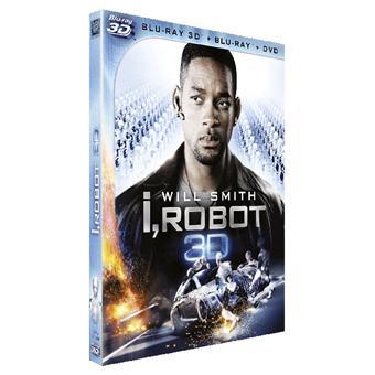 I, robot Combo Blu-ray 3D + 2D + DVD