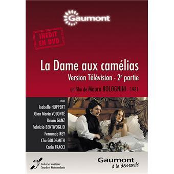 La Dame aux camélias Partie 2 DVD