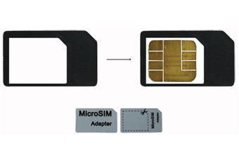 Modelabs Adaptateur de carte MicroSIM vers SIM