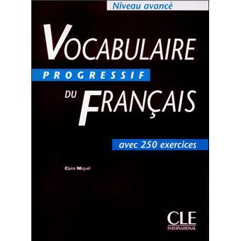 Vocabulaire Progres Fra Avance