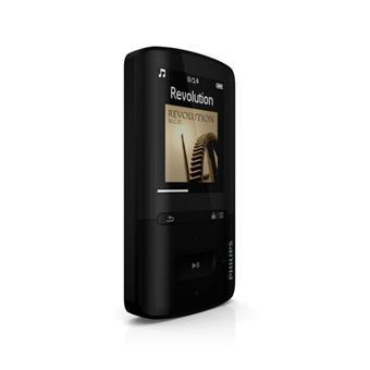 Baladeur MP3 PHILIPS SA4VBE04KF NOIR 4GO