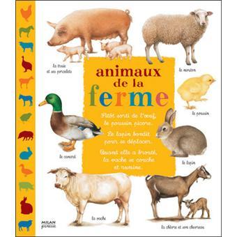 Très Animaux de la ferme Livre avec 8 figurines - cartonné - Catherine  CV59