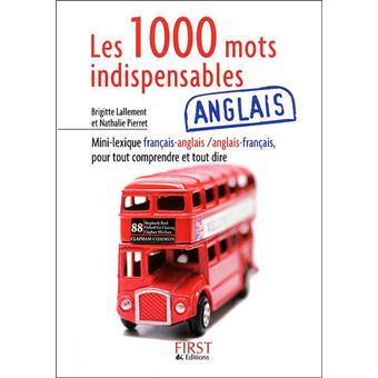 Petit livre de - Les 1000 mots indispensables anglais