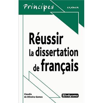dissertation hypokhâgne français