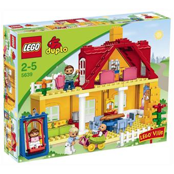 lego duplo 5639 la maison lego achat prix fnac. Black Bedroom Furniture Sets. Home Design Ideas