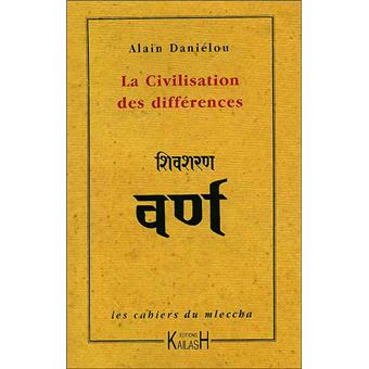 La civilisation des différences