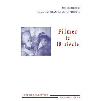 FILMER LE 18e SIECLE