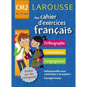 Mon Cahier D Exercices Francais Cm2