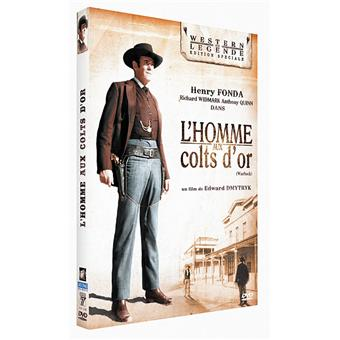 L'homme aux colts d'or DVD