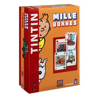 dujardin 1000 bornes tintin jeu de cartes achat prix fnac. Black Bedroom Furniture Sets. Home Design Ideas