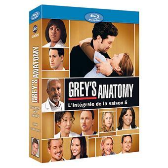 Grey's AnatomyGrey's Anatomy - Coffret intégral de la Saison 5 - blu-Ray