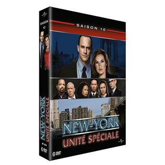 New York Unité SpécialeNew York Unité Spéciale - Coffret intégral de la Saison 10