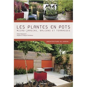 les plantes en pots micro jardins terrasses et balcons