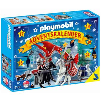 Playmobil Calendrier.Playmobil 4160 Calendrier De L Avent Chevaliers Des Dragons