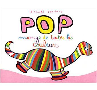 PopPop mange de toutes les couleurs