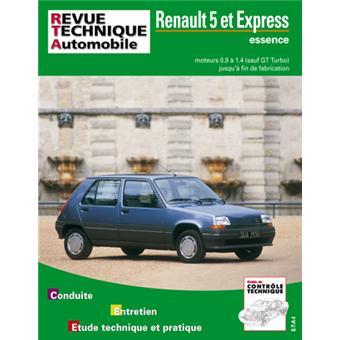 revue technique RTA 480 Renault R5 Diesel et EXPRESS