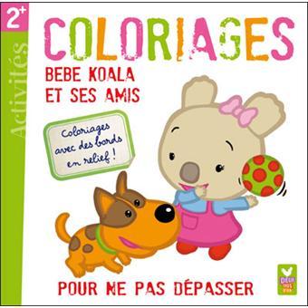 Coloriage Magique Bebe.Bebe Koala Coloriages Magiques Bebe Koala Et Ses Amis