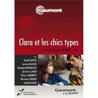 Clara et les chics types DVD