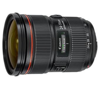 Canon EF Zoomlens - 24mm - 70mm f/2.8 Series L II USM