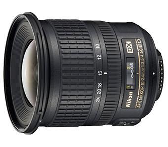 Objectif reflex Nikon AF-S DX IF ED 10 - 24 mm f/3.5 - 4.5 série G Nikkor