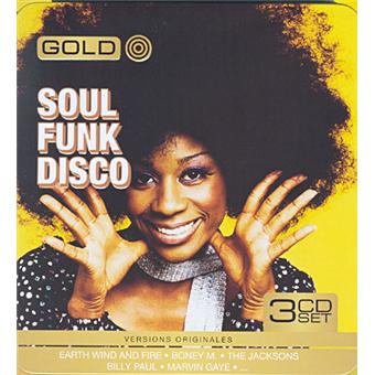 Gold Metal Box Soul Funk Disco