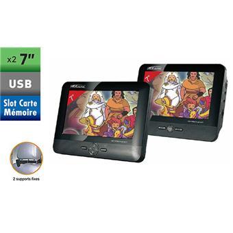 takara vic67 pack vid o double cran lecteur dvd portable achat prix fnac. Black Bedroom Furniture Sets. Home Design Ideas