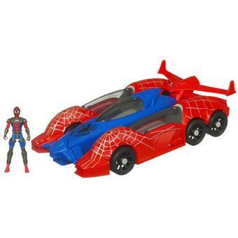 Hasbro spiderman vehicule 5 en 1 voiture achat prix fnac - Spiderman voiture ...